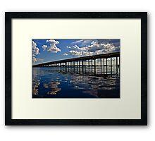 Charlotte Harbor Framed Print