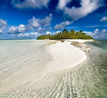 The Sandbar - Cocos (Keeling) Islands by Karen Willshaw