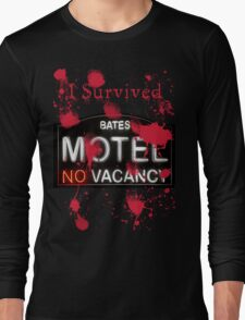 Bates Motel - I Survived! - T-shirt Long Sleeve T-Shirt
