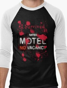 Bates Motel - I Survived! - T-shirt Men's Baseball ¾ T-Shirt