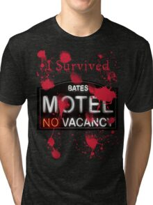 Bates Motel - I Survived! - T-shirt Tri-blend T-Shirt
