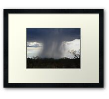 Isolated Showers.... Framed Print