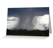 Isolated Showers.... Greeting Card