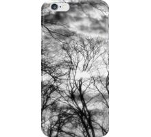 Sun, Clouds, and Winter Trees iPhone Case/Skin