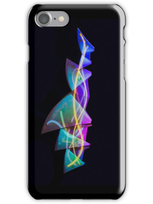 Sail Streamers - Vivid Festival - Sydney Opera House - iPhone Case by Bryan Freeman