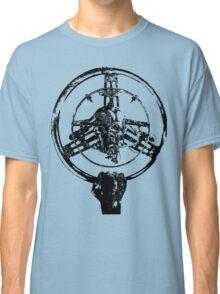 Mad Max Wheel Stencil Design Classic T-Shirt