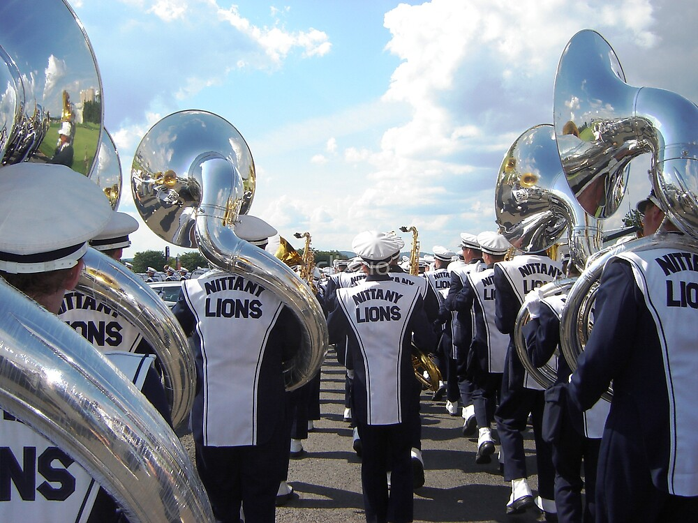 Penn State Blue Band by clizzio