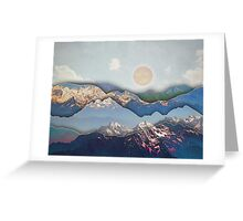 Rolling Mountains Greeting Card