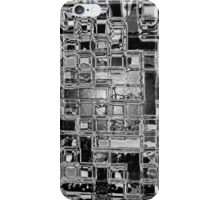 Glass Bricks With Shattered Ice Background - iPhone Case iPhone Case/Skin
