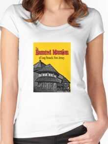 The Haunted Mansion of Long Branch NJ Women's Fitted Scoop T-Shirt