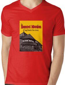 The Haunted Mansion of Long Branch NJ Mens V-Neck T-Shirt