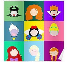 Disney Icons Poster