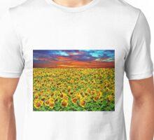 Sundown Sunflowers Unisex T-Shirt