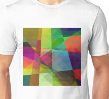 Colorful Geometric Abstract Pattern Unisex T-Shirt