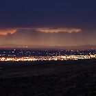 Clouds Create Shadows / Of Mountains in the Distance / El Paso Texas by utzuki