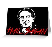 Hail Sagan Greeting Card