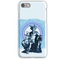 Hermes II - Blue iPhone Case/Skin