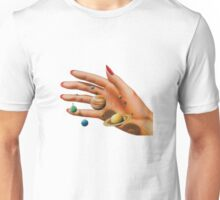 galaxy in my hands Unisex T-Shirt