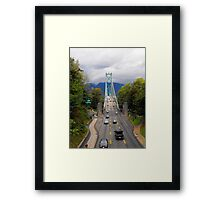 Lion's Gate Bridge Framed Print