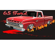 65 Ford Fire 1 Photographic Print