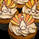 Turkey Cupcakes by tali