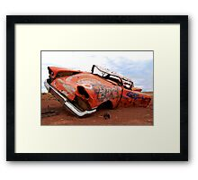 Abandoned Art  Framed Print