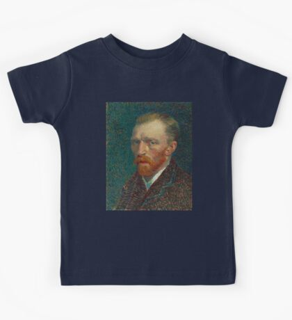 Vincent Van Gogh self portait Kids Tee