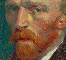 Vincent Van Gogh self portait Sticker