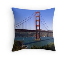 Golden Gates north and south towers Throw Pillow