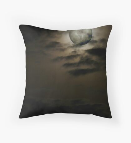 'Lunar Composites' Throw Pillow
