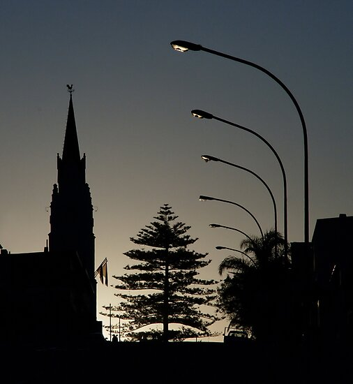 Small-town silhouette by Erika Gouws