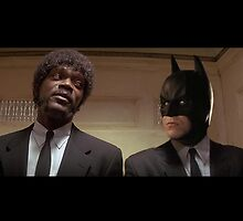 Pulp Fiction - It's Better With Batman by itsbetter
