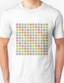 Rainbow Penguins Unisex T-Shirt
