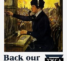 Back Our Girls Over There -- YWCA by warishellstore
