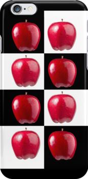 How's Dem For Apples! iPhone Cover by Bryan Freeman