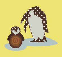 Father and Baby Penguin Kids Clothes