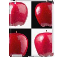 White & Black - Red Apples iPad Case/Skin