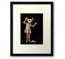 Ops Framed Print