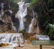 Lua Prabang Waterfall-Laos/Hmong by paoher