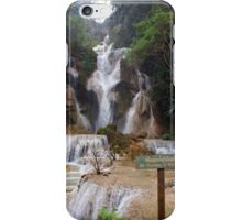 Lua Prabang Waterfall-Laos/Hmong iPhone Case/Skin