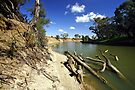Murrumbidgee River at Hay by Darren Stones