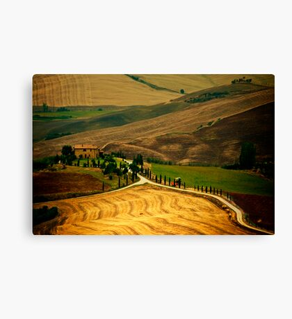 Tuscany, III Canvas Print