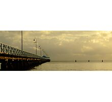 Golden Pier Photographic Print