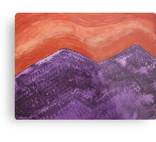 Mountain Majesty original painting Metal Print