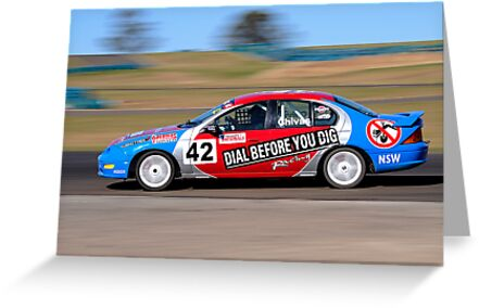 Ian Chivas - Kumho Aust Saloon Car Series by Gino Iori