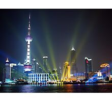 Live, from Shanghai! Photographic Print