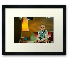 ...mature... Framed Print