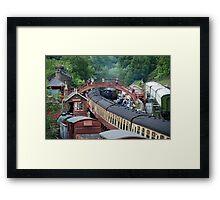 NYMR - Goathland Station Framed Print