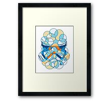 Trooper Abstract Framed Print