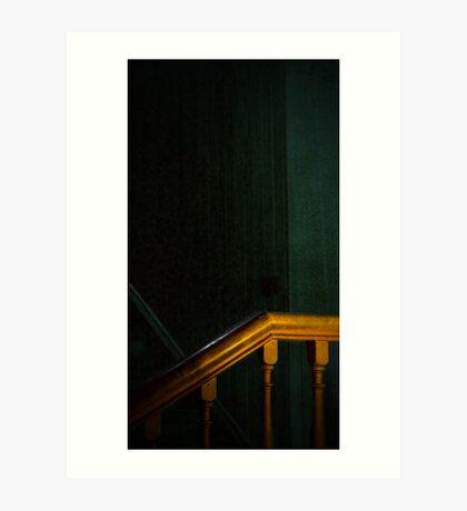 Bannister Art Print